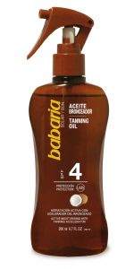 Babaria Spray  Coconut Tanning Oil SPF 4 200ml